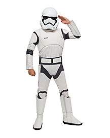Kids Stormtrooper Costume - Star Wars Force Awakens