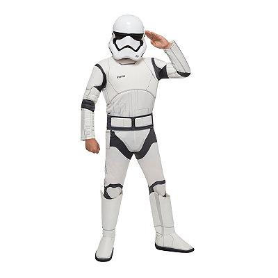 Star Wars Episode VII Force Awakens Stormtrooper Boys Costume