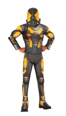 ant man yellow jacket costume