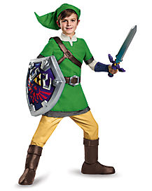 Kids Link Costume Deluxe - Legends of Zelda
