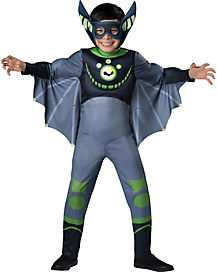 Wild Kratts Deluxe Green Bat Child Costume