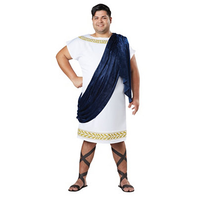 Grecian Toga Mens Plus Size Costume