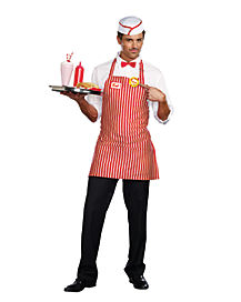 Diner Dude Adult Mens Costume