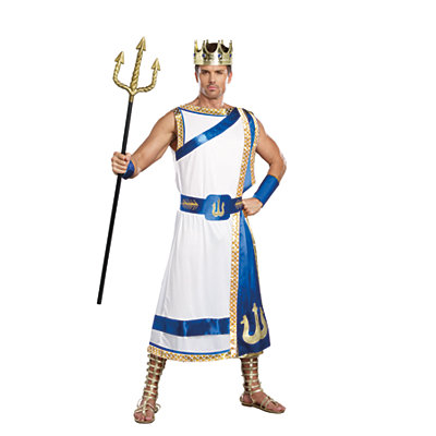 Adult Poseidon Costume
