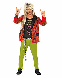 Adult 80s Rock Star Costume