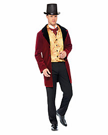 Adult Edwardian Gent Costume - Deluxe