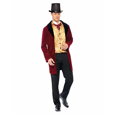 Edwardian Gent Deluxe Adult Mens Costume $54.99 AT vintagedancer.com