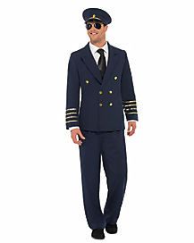 Pilot Adult Mens Costume