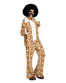 Adult Disco Dude Costume