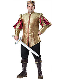Adult Renaissance Prince Plus Size Costume - Theatrical