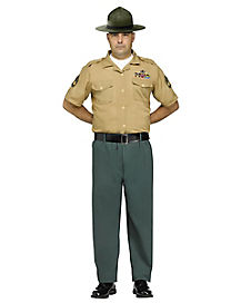 Marine Deluxe Adult Mens Costume