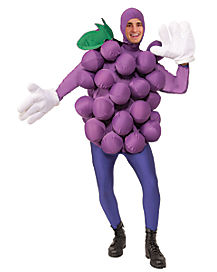 Purple Grapes Adult Mens Costume