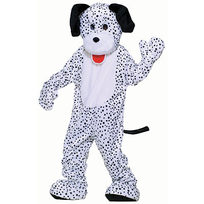 Adult Dalmatian Dog Mascot Costume - Deluxe