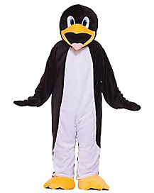 Adult Penguin Mascot One Piece Costume
