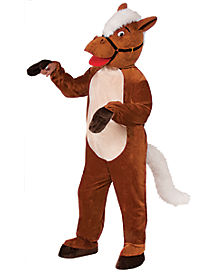 Adult Henry the Horse Mascot One Piece Costume