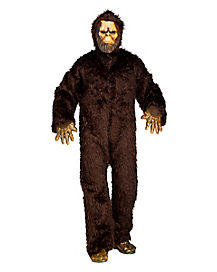Adult Big Foot Mascot Costume