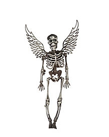 14 in Silver Winged Skeleton - Decorations