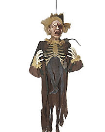 5.5 Ft Hanging Scarecrow Zombie - Decorations