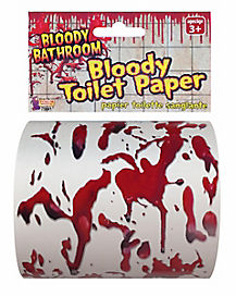 Bloody Toilet Paper - Decoration