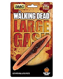 Walking Dead Large Gash