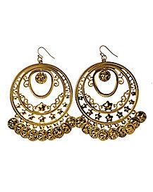 Gypsy Coin Earrings