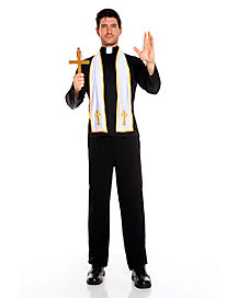 Religious Priest Mens Costume