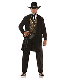 Adult The Gambler Costume