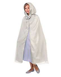 Kids Royal Silver Princess Cape
