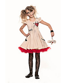 Kids Voodoo Dolly Costume
