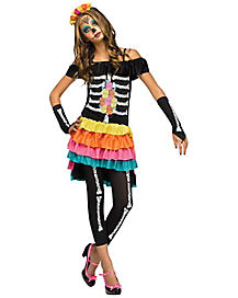Teen Dia De Los Muertos Costume - Day of the Dead