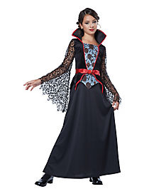 Countess Bloodthrone Vampire Child Costume