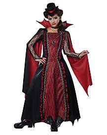 Kids Victorian Vampira Costume