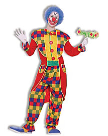Clown Tuxedo Adult Costume