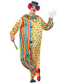 Spots the Clown Adult Costume