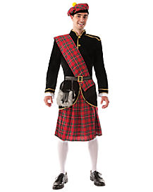 Scotsman Adult Mens Costume