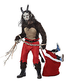 Adult Krampus the Christmas Demon Costume - Theatrical