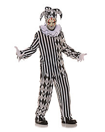 Adult Evil Harlequin Costume