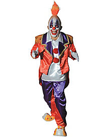 Ringmaster Clown Adult Theatrical Costume