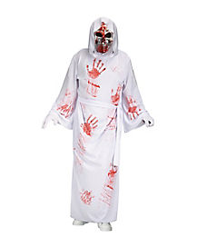 Bleeding Reaper White Adult Costume