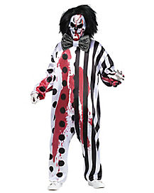 Bleeding Killer Clown Adult Costume