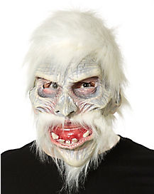 White Warrior Mask