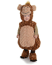 Baby Belly Monkey Costume