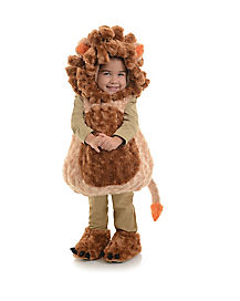 Lion Belly Baby Costume