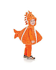 Baby Belly Clown Fish Costume