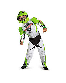 Motorcross Toddler Costume