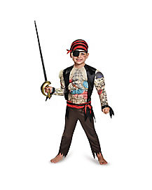 Toddler Muscle Pirate Costume