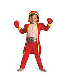 Toddler Muscle Little Fighter Costume