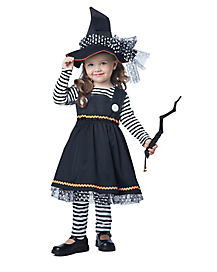 Toddler Crafty Witch Costume