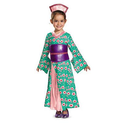 Toddler Kimono Princess Costume