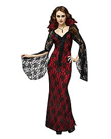 Vampiress Adult Womens Theatrical Costume